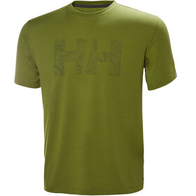 Helly Hansen Skog Graphic T-Shirt Herre wood green